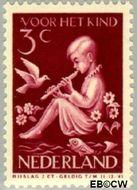 Nederland NL 314  1938 Kind en muziek 3+2 cent  Gestempeld