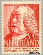 Nederland NL 320  1939 Bekende personen 3+3 cent  Postfris