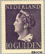 Nederland NL 349  1946 Wilhelmina- Type 'Konijnenburg' 1000 cent  Gestempeld