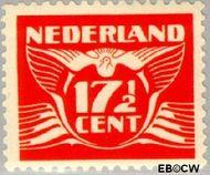 Nederland NL 385  1941 Vliegende Duif 17½ cent  Gestempeld
