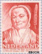 Nederland NL 394  1941 Bekende personen 4+3 cent  Gestempeld