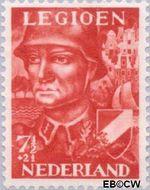 Nederland NL 402  1942 Voorzieningsfonds Nederlands legioen 7½+2½ cent  Gestempeld