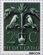 Nederland NL 408  1943 Germaanse symbolen 2½ cent  Gestempeld