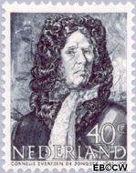 Nederland NL 421  1943 Zeehelden 40 cent  Postfris