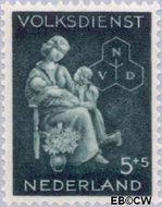 Nederland NL 425  1944 Winterhulp-Volksdienst 5+5 cent  Gestempeld