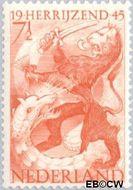 Nederland NL 443#  1945 Bevrijding  cent  Gestempeld