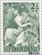 Nederland NL 450  1946 Nationale-hulpzegel 2½+5 cent  Postfris
