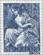 Nederland NL 453  1946 Nationale-hulpzegel 12½+37½ cent  Gestempeld
