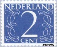 Nederland NL 461  1946 Cijfer type 'van Krimpen' 2 cent  Gestempeld
