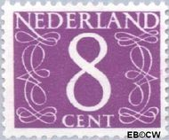 Nederland NL 468  1957 Cijfer type 'van Krimpen' 8 cent  Postfris
