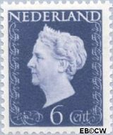 Nederland NL 476  1948 Koningin Wilhelmina- Type 'Hartz' 6 cent  Postfris