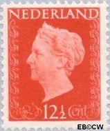 Nederland NL 479  1947 Koningin Wilhelmina- Type 'Hartz' 12½ cent  Gestempeld