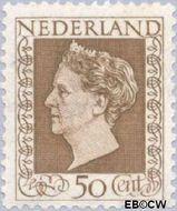 Nederland NL 488  1947 Koningin Wilhelmina- Type 'Hartz' 50 cent  Gestempeld