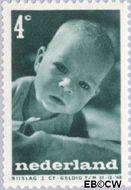 Nederland NL 496  1947 Levensstadia kind 4+2 cent  Gestempeld