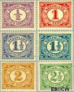 Nederland NL 50#55  1899 Cijfer type 'Vürtheim'  cent  Gestempeld