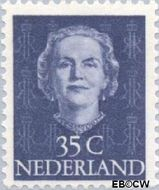 Nederland NL 527  1949 Koningin Juliana- Type 'En Face' 35 cent  Postfris