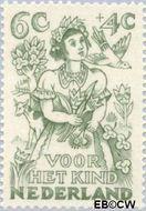 Nederland NL 546  1949 Jaargetijden 6+4 cent  Gestempeld
