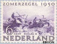 Nederland NL 553  1950 Wederopbouw 6+4 cent  Postfris