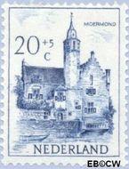 Nederland NL 572  1951 Kastelen 20+5 cent  Gestempeld