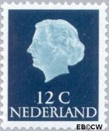 Nederland NL 618b  1967 Koningin Juliana- Type 'En Profile' 12 cent  Postfris