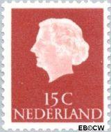 Nederland NL 619  1953 Koningin Juliana- Type 'En Profile' 15 cent  Postfris