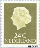 Nederland NL 622  1963 Koningin Juliana- Type 'En Profile' 24 cent  Gestempeld