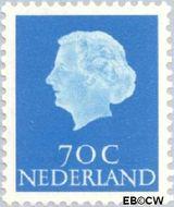 Nederland NL 632  1957 Koningin Juliana- Type 'En Profile' 70 cent  Gestempeld