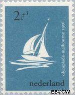 Nederland NL 676  1956 Olympische Spelen- Melbourne 2+3 cent  Postfris