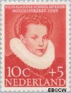 Nederland NL 686  1956 Kinderportretten 10+5 cent  Gestempeld
