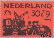 Nederland NL 726  1959 Deltawerken 30+9 cent  Gestempeld
