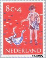 Nederland NL 733  1959 Activiteiten kinderen 8+4 cent  Gestempeld