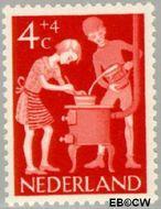 Nederland NL 779  1962 Kinderactiviteiten 4+4 cent  Gestempeld