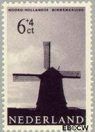 Nederland NL 787  1963 Molens 6+4 cent  Gestempeld
