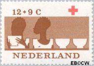 Nederland NL 798  1963 Rode Kruis 12+9 cent  Postfris