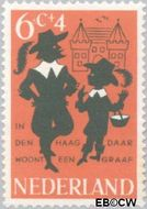 Nederland NL 803  1963 Kinderrijmpjes 6+4 cent  Gestempeld