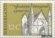 Nederland NL 811#  1964 Staten Generaal  cent  Gestempeld