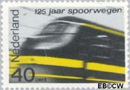 Nederland NL 819  1964 Spoorwegen 40 cent  Gestempeld