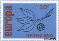 Nederland NL 848  1965 C.E.P.T.- Vrucht 20 cent  Gestempeld