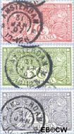 Nederland NL 84W#86W  1906 Tuberculosebestrijding  cent  Gestempeld