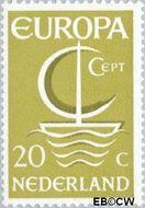 Nederland NL 868  1966 C.E.P.T.- Scheepje 20 cent  Postfris