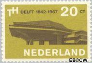 Nederland NL 876#  1967 Technische Hogeschool Delft  cent  Gestempeld