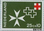 Nederland NL 892  1967 Rode Kruis 25+10 cent  Gestempeld