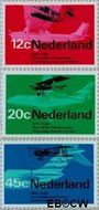 Nederland NL 909#911  1968 Luchtvaart  cent  Postfris