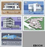 Nederland NL 920#924  1969 Architectuur  cent  Gestempeld