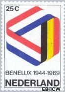 Nederland NL 930#  1969 BENELUX  cent  Postfris