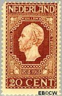Nederland NL 95  1913 Onafhankelijkheid 20 cent  Gestempeld