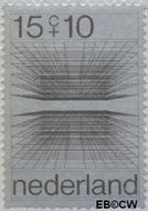 Nederland NL 966  1970 Computertekeningen 15+10 cent  Postfris