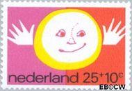 Nederland NL 998  1971 Elementen van de Kinderwereld 25+10 cent  Postfris