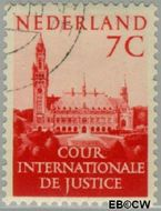 Nederland NL D33  1951 Cour Internationale de Justice 7 cent  Gestempeld