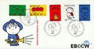 Nederland NL E100  1969 Kind en muziek  cent  FDC zonder adres